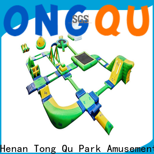 Tongtoy Latest big inflatable water park company for water park