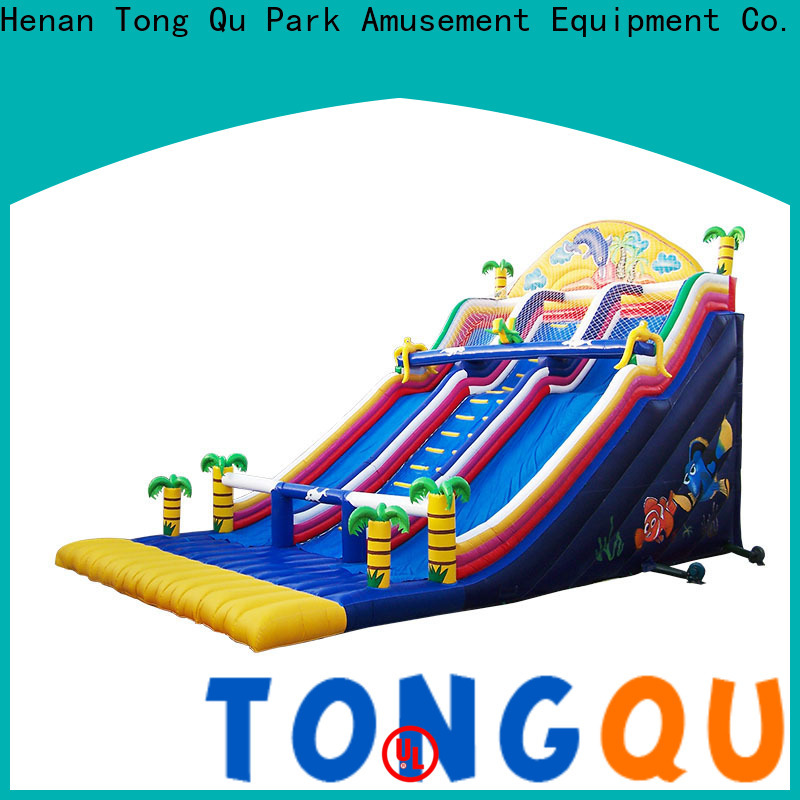 Tongtoy giant inflatable slide factory price for indoor