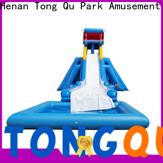 Tongtoy giant inflatable water slide factory