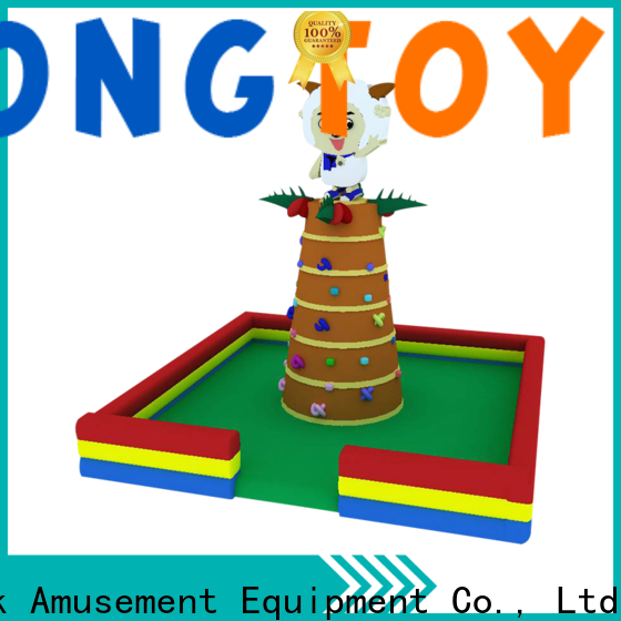 Tongtoy good selling inflatable climbing wall order now for big events