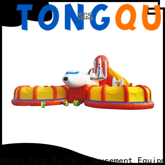 Tongtoy commercial bounce house with slide for sale inquire now for outdoor