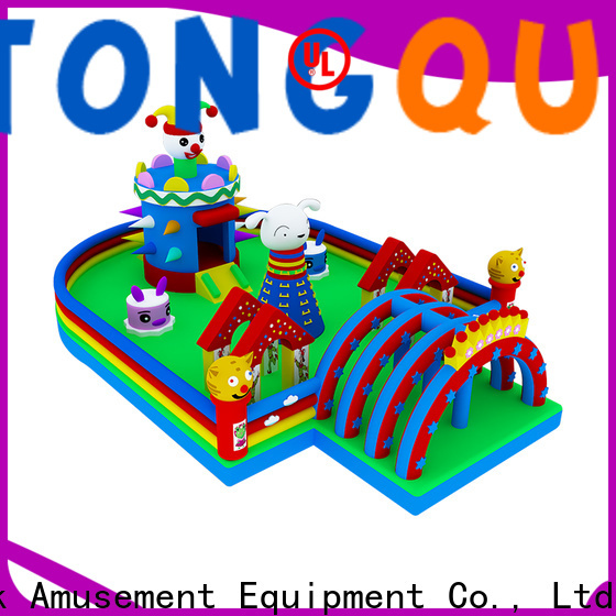 Tongtoy colorful large blow up water slide supplier for adult