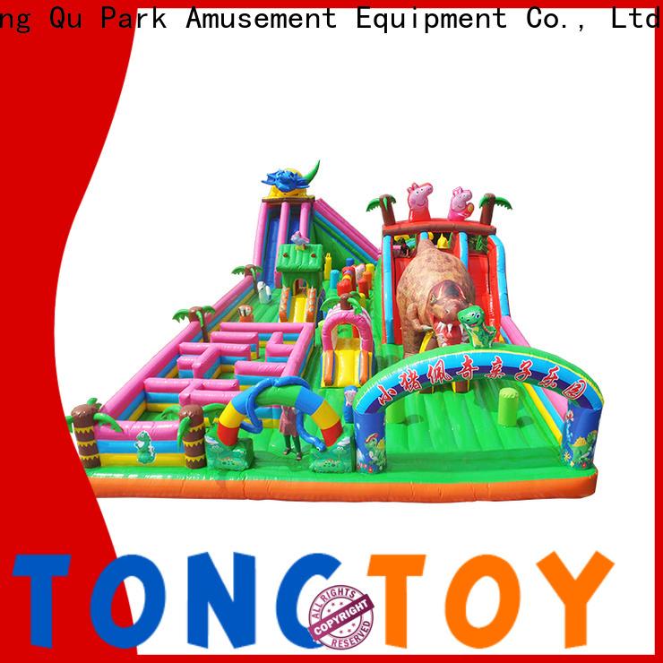 Tongtoy misty kingdom bounce house wholesale for kids