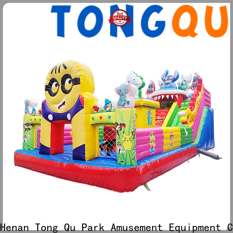colorful inflatable jump house wholesale for kids