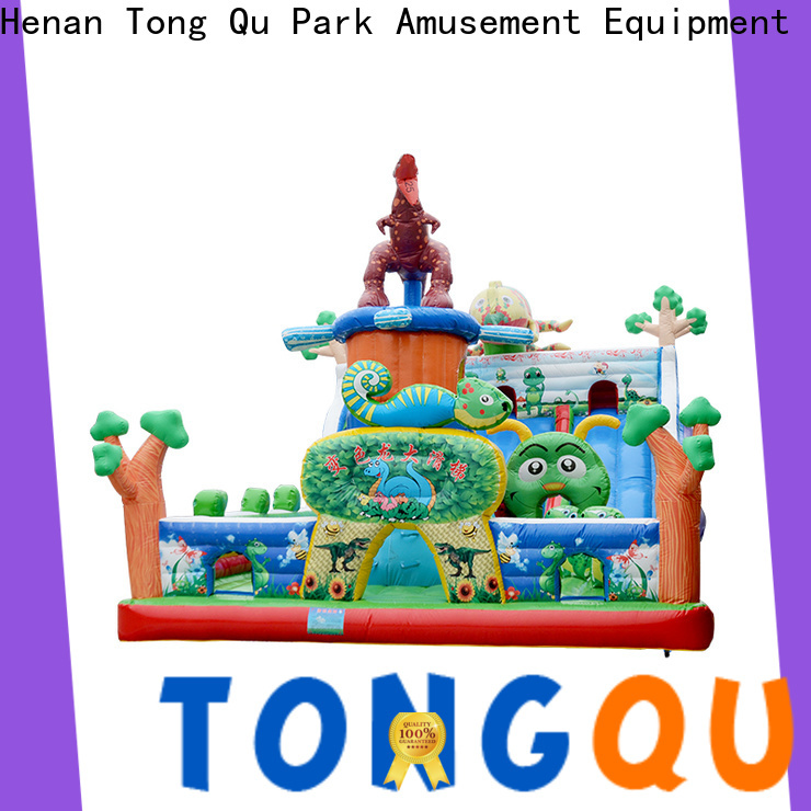 colorful commercial bounce house with slide inquire now for adult