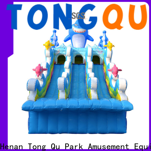 customized moon bounce water slide company for swimming pool