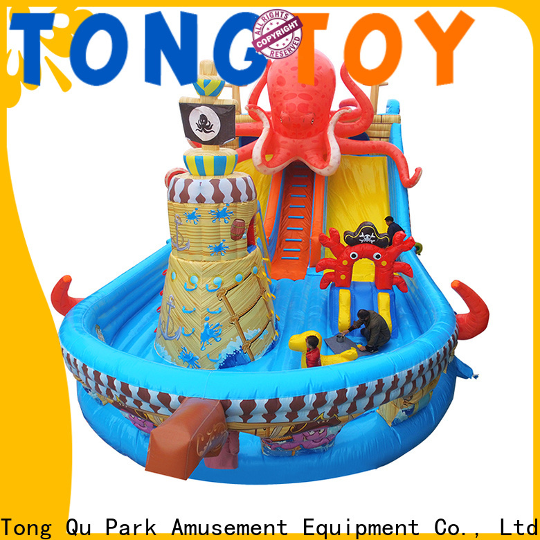 Tongtoy inflatable bouncer and slide wholesale for kids