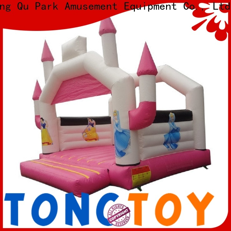 Tongtoy colorful moonwalk bouncers wholesale for adult