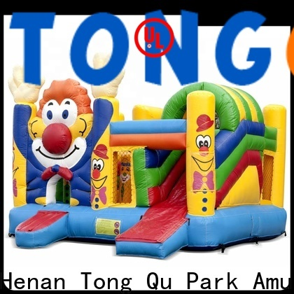 Tongtoy fire-resistant blow up bounce house inquire now for outdoor