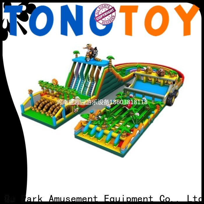 Tongtoy indoor inflatable obstacle course Supply for adult