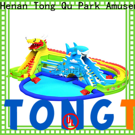 Tongtoy High-quality big blow up water slide reputable manufacturer