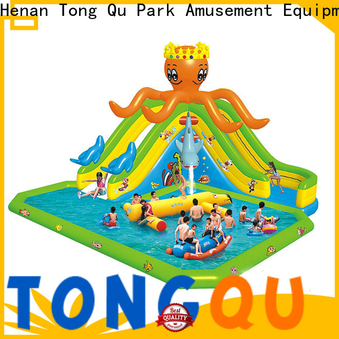 High-quality jump house water slide reputable manufacturer for swimming pool