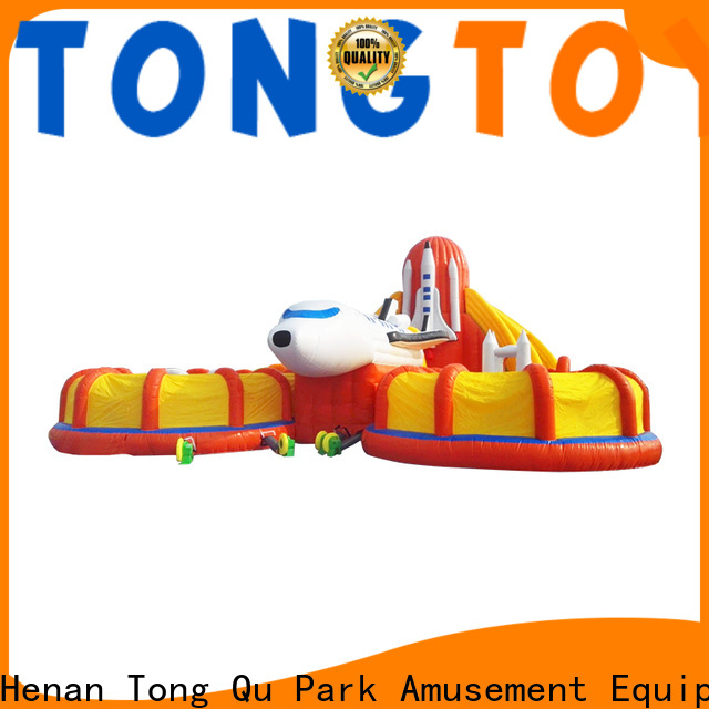 Tongtoy fire-resistant commercial bounce house for sale near me wholesale for kids