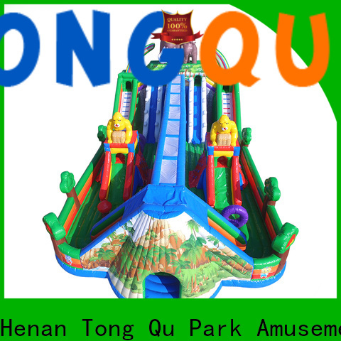 Tongtoy water-proof moonwalk bounce house wholesale for kids