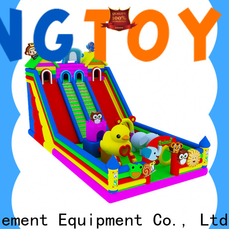 Tongtoy Wholesale commercial inflatable slide factory price for amusement park