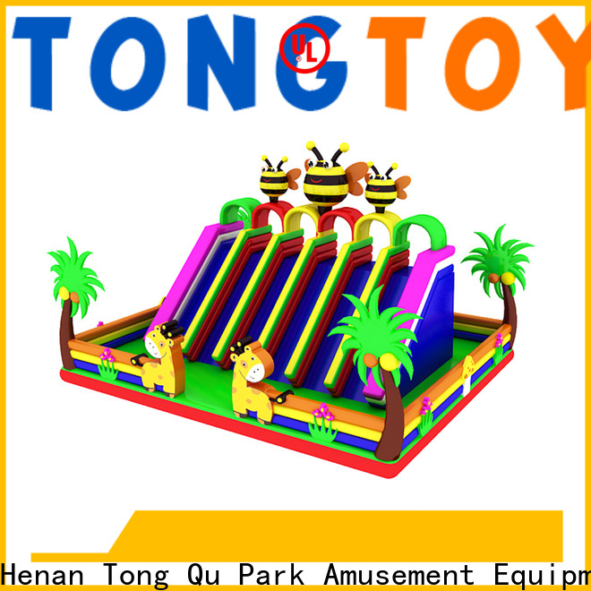 Tongtoy giant inflatable slide from China for amusement park