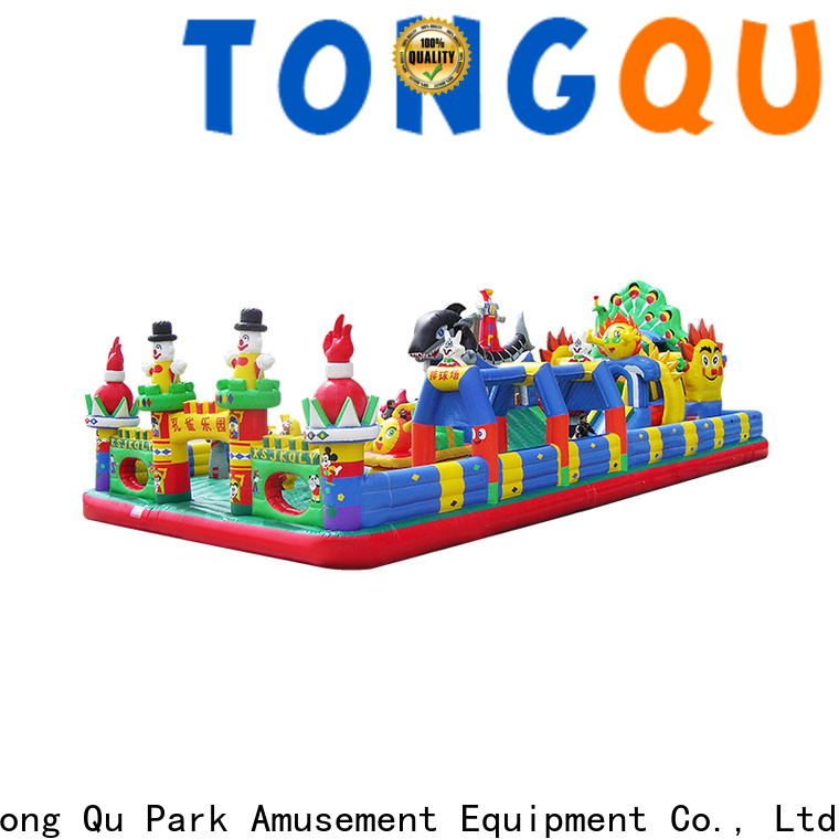 Tongtoy inflatable bouncers with slide supplier for kids