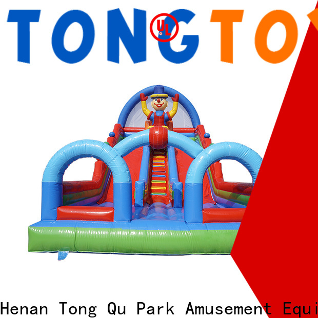 Tongtoy Wholesale commercial inflatable slide from China for indoor