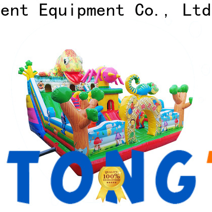 Tongtoy fire-resistant outdoor bounce house supplier for kids