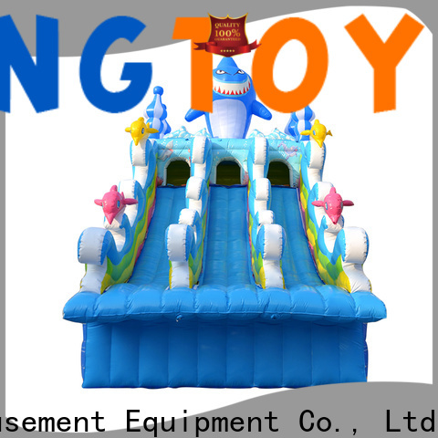 Tongtoy Latest best inflatable water slide reputable manufacturer