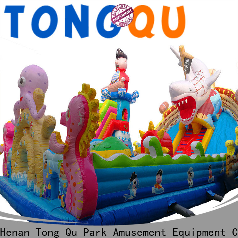 Tongtoy fire-resistant bestway octopus bouncer supplier for kids