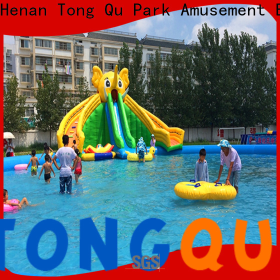 Latest toddler blow up water park reputable manufacturer for water park