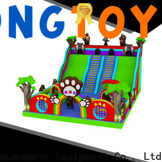 Tongtoy giant inflatable slide reputable manufacturer for outdoor