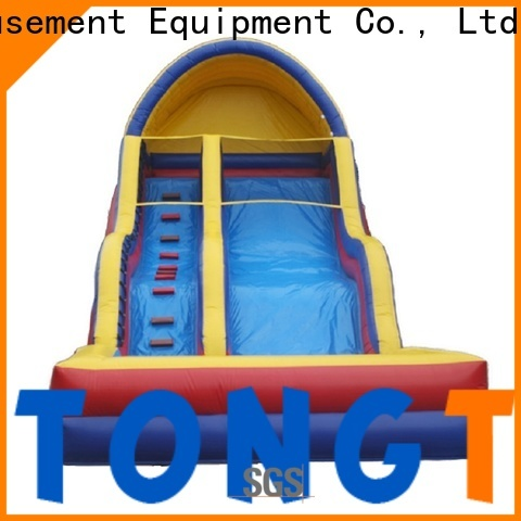 High-quality jumping water slides for business for swimming pool