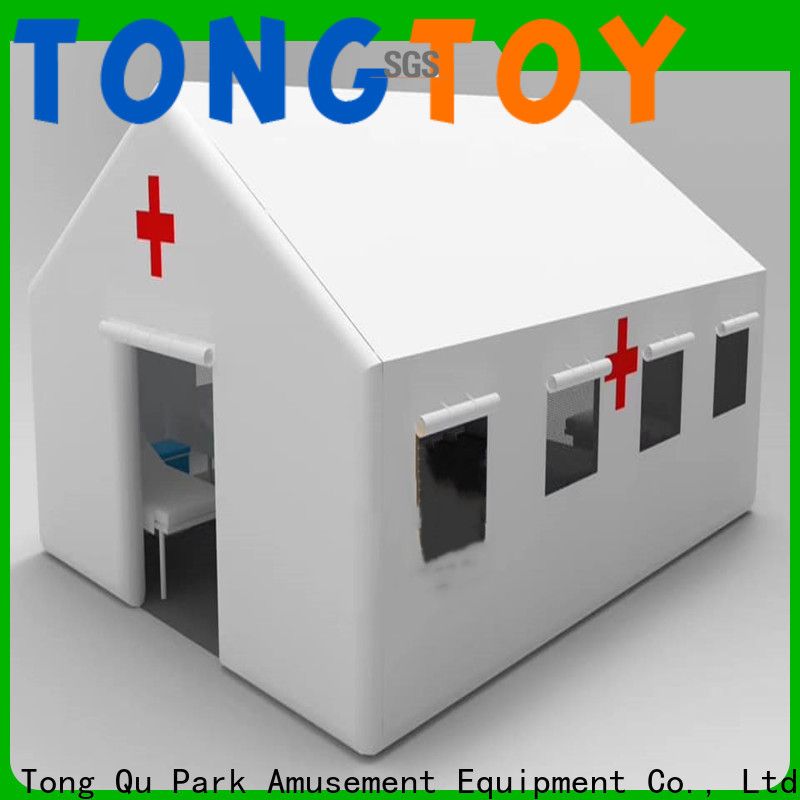 Tongtoy Latest inflatable military tent manufacturers for kids