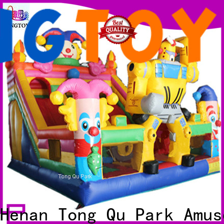 Tongtoy water-proof giant inflatable water slide supplier for outdoor