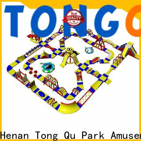 Tongtoy giant inflatable water park wholesale for playground