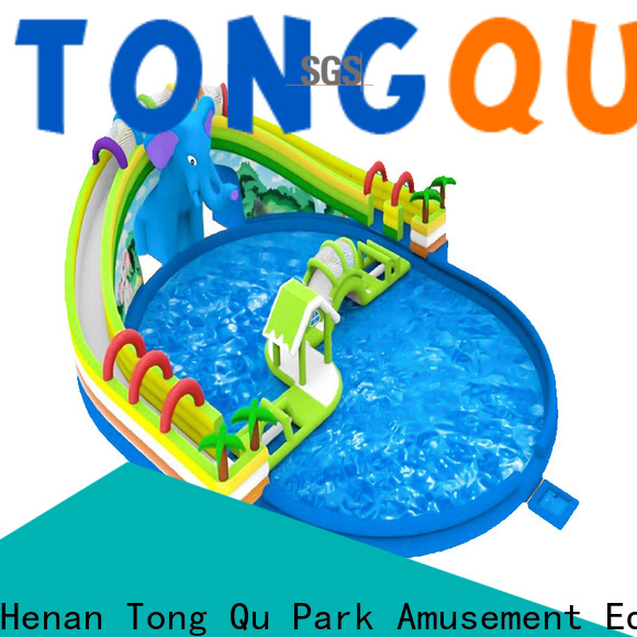 Tongtoy obstacle course water slide manufacturers