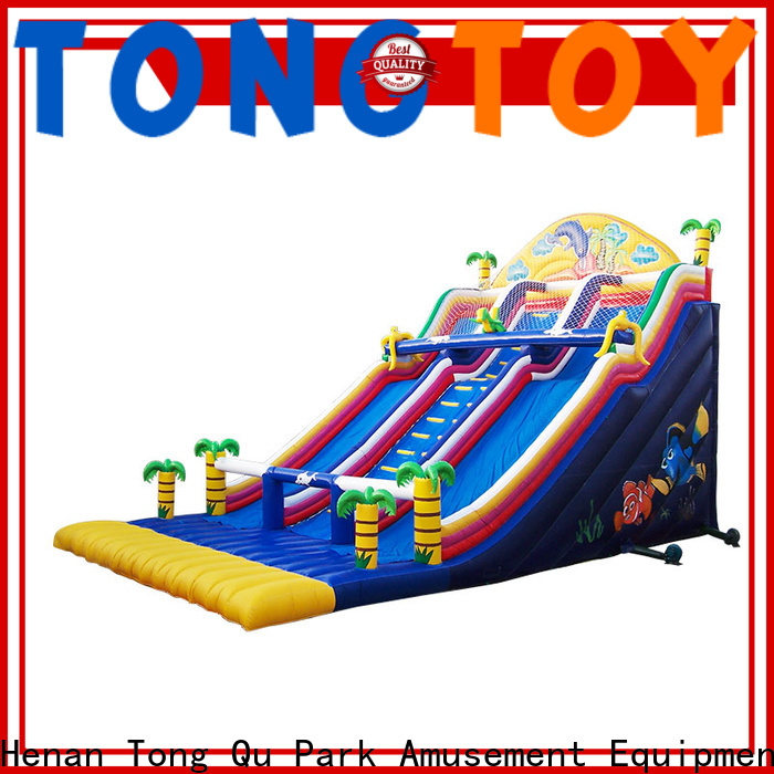 Tongtoy kids inflatable slide factory price for amusement park