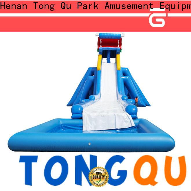 Tongtoy water slip n slide factory for swimming pool