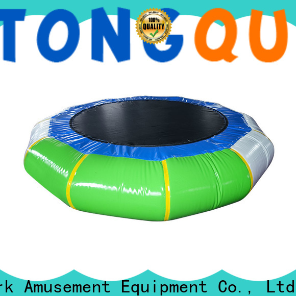 Tongtoy Tongtoy water trampoline with slide buy now for water park