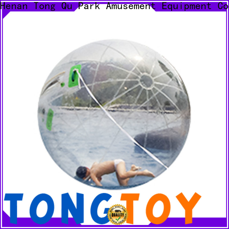 Tongtoy water walking ball factory price for outdoor games