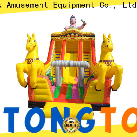 Tongtoy indoor inflatable slide factory price for indoor