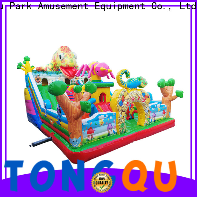 Tongtoy cheap commercial bounce houses for sale supplier for adult