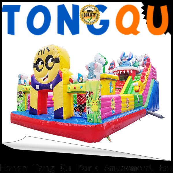 Custom high quality misty kingdom bounce house supplier for outdoor