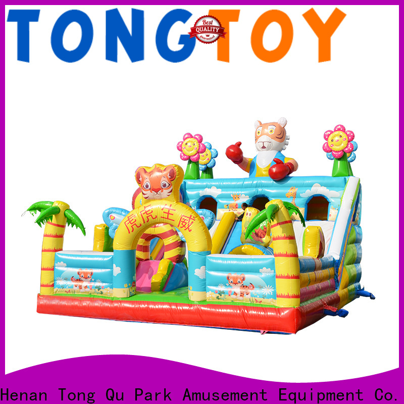 Tongtoy OEM best custom inflatable water slides supplier for kids