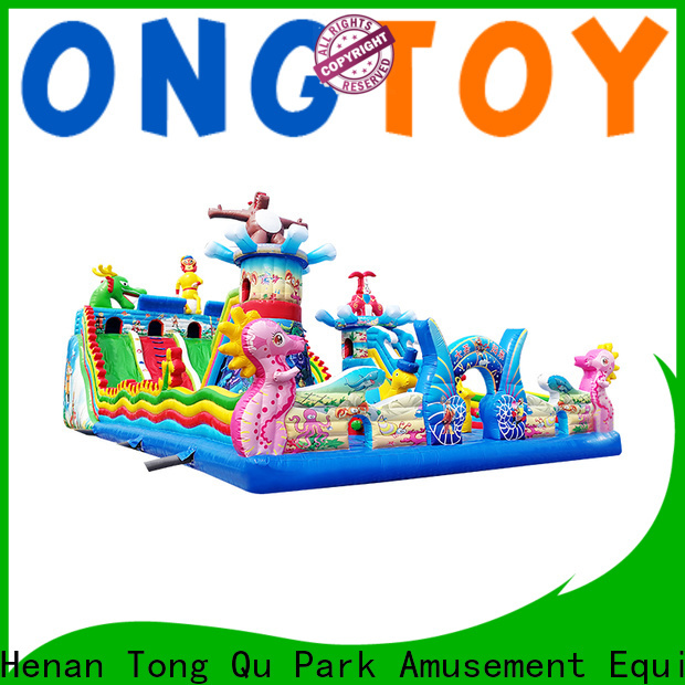 Tongtoy Wholesale outdoor inflatable bounce house inquire now for outdoor