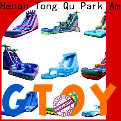 Tongtoy kids inflatable slide from China for indoor