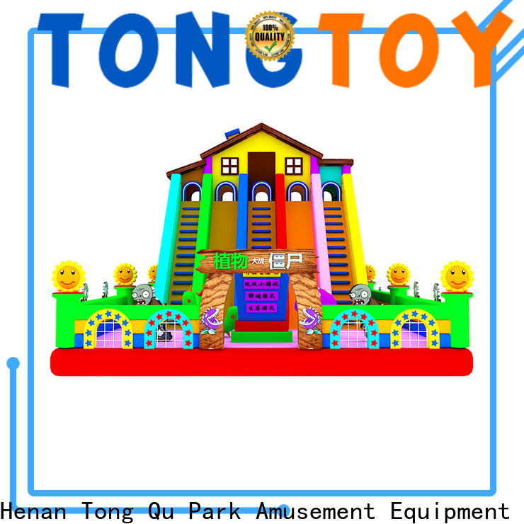 Tongtoy Custom inflatable toddler slide from China for outdoor