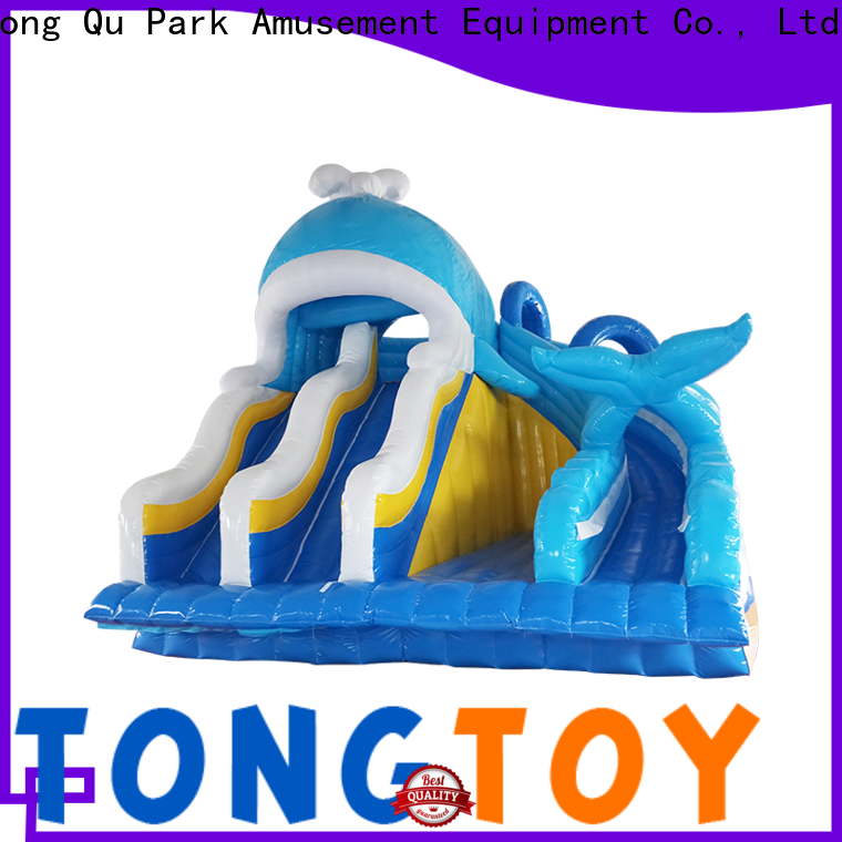 OEM best commercial inflatable slide for business for water park