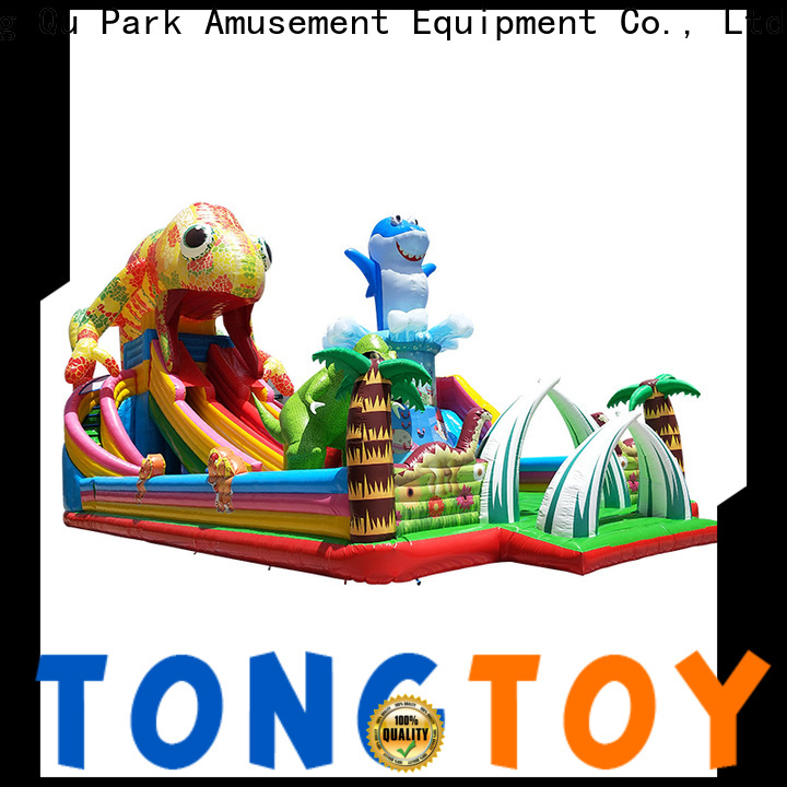 Bulk purchase high quality huge inflatable water slide supplier for kids