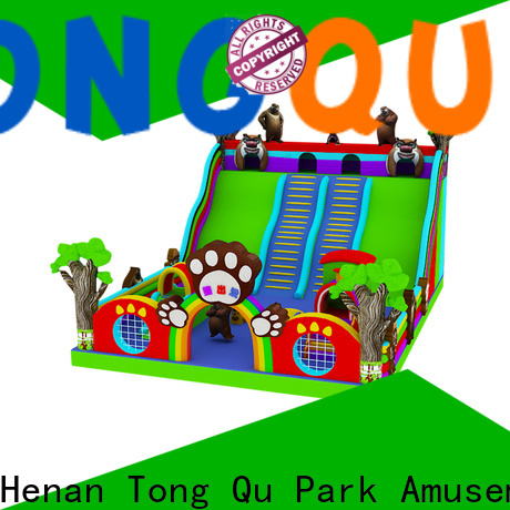 colorful blow up slide factory price for outdoor