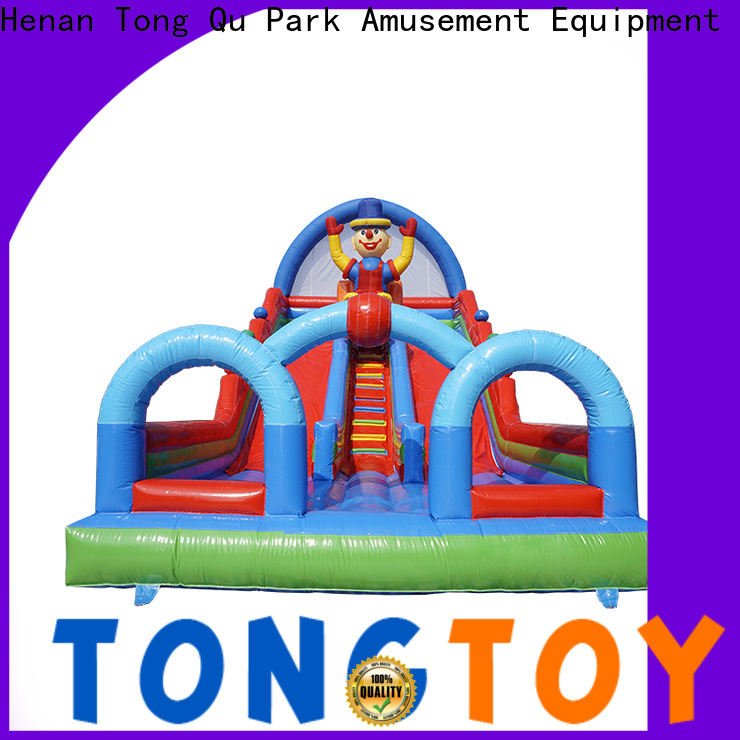 Tongtoy wet and dry inflatable slide reputable manufacturer for outdoor