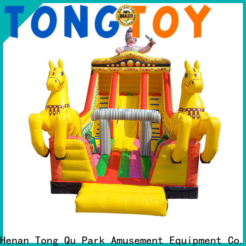 Wholesale giant inflatable slide reputable manufacturer for outdoor