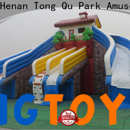 Tongtoy giant inflatable water slide manufacturers for swimming pool