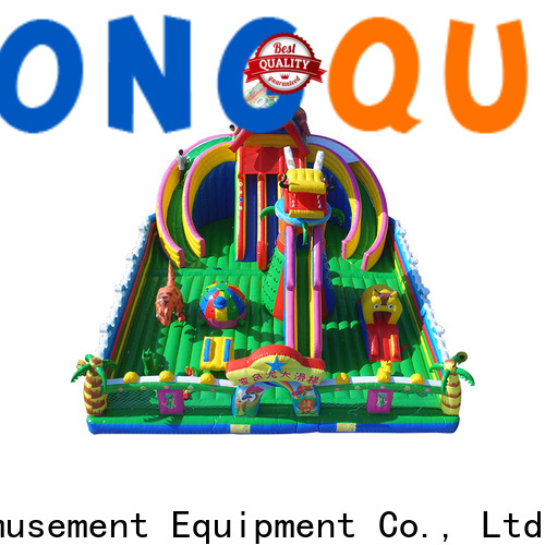 Tongtoy bounce house slide combo for sale wholesale for adult